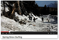 2013 Spring Snow Surfing